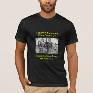 Camiseta Humor uniforme de Butterfield: T-shirt (preto)
