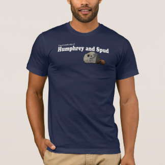 Camiseta Humphrey e Spud com logotipo