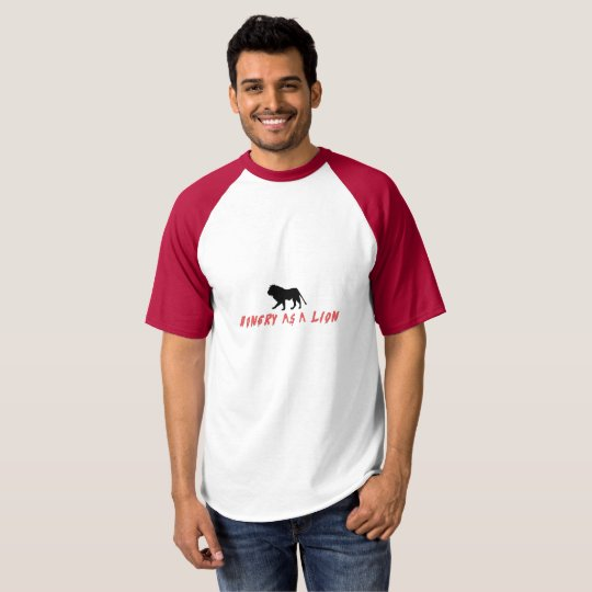 Camiseta Hungry as a Lion