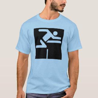 Camiseta Hurdler (bloco)