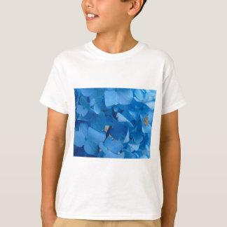 Camiseta Hydrangeas azuis