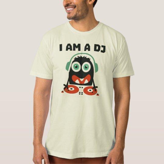 """Camiseta """"I am a dj"""""""