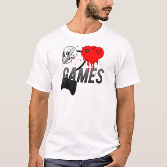 Camiseta - I Love Games