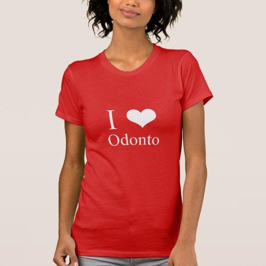 Camiseta I LOVE ODONTO