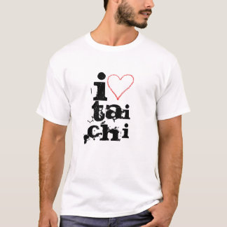 Camiseta I love tai chi