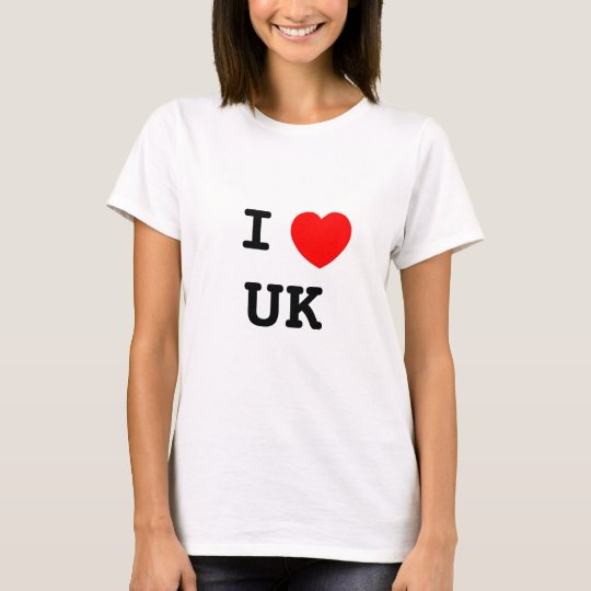 CAMISETA I LOVE UK