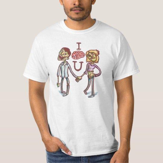 "Camiseta ""I Love You"" Zumbi"