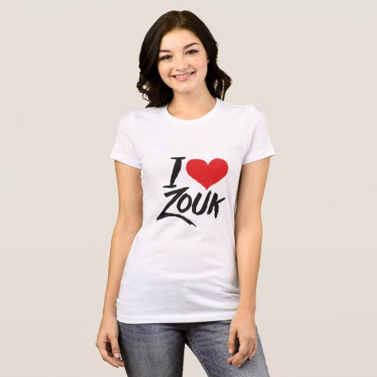 Camiseta I love Zouk