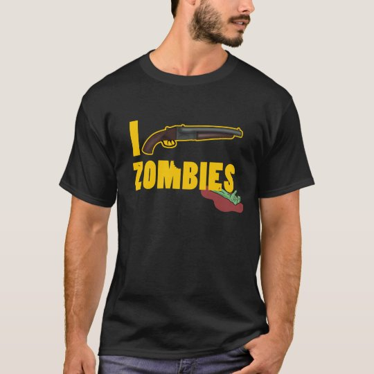 Camiseta I Shoot Zombies