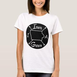 Camiseta IA crescido Iowa