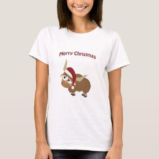 Camiseta Iaques do papai noel do Feliz Natal