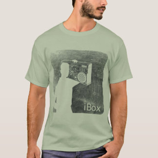 Camiseta iBox (carvão vegetal scarred)