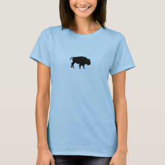 Camiseta Ícone do bisonte americano