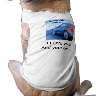 Camiseta ícone do carro, eu te amo!!                 E seu…