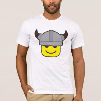 Camiseta ícone do guerreiro de viquingue