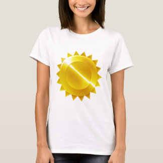 Camiseta Ícone do prêmio da medalha de ouro