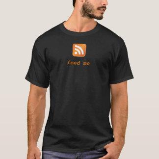 Camiseta Ícone do RSS - alimente-me