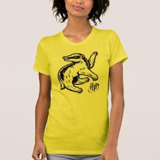 Camiseta Ícone do texugo de Harry Potter   Hufflepuff