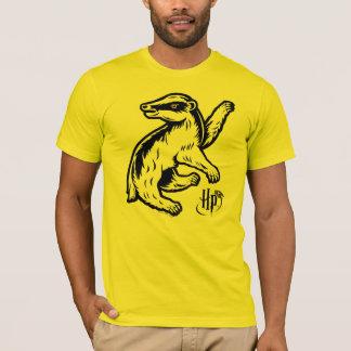 Camiseta Ícone do texugo de Harry Potter | Hufflepuff