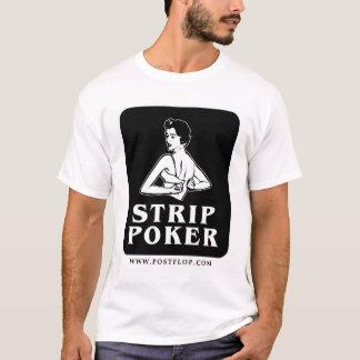 Camiseta Ícone retro do póquer de tira