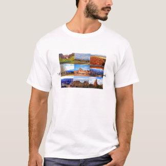 Camiseta Ícones da paisagem de Utá