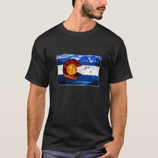 Camiseta Ícones do t-shirt de Colorado