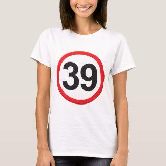 Camiseta Idade 39