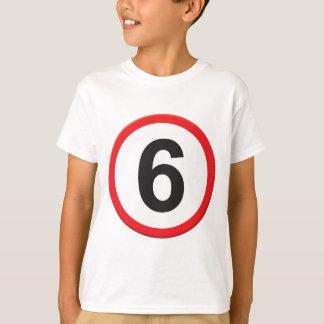 Camiseta Idade 6