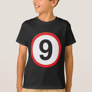 Camiseta Idade 9