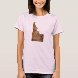 Camiseta Idaho Spud o mapa