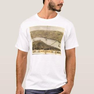 Camiseta Ideia de olho de pássaro do santo Charles,