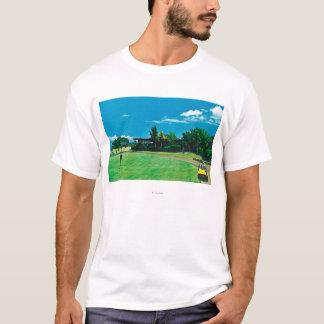 Camiseta Ideia de um verde no golfe real de Kaanapali