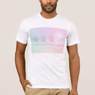 Camiseta Ideia ou negócio de vencimento como um conceito