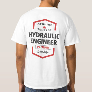 Camiseta Ideias hidráulicas do presente do logotipo do