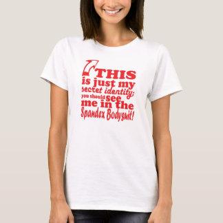 Camiseta Identidade secreta