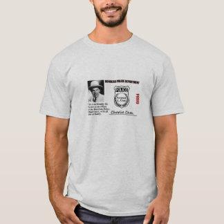 Camiseta Identificação da polícia de Charlie Chan