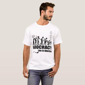 Camiseta Idiocracy está vivo e bem Nos EUA!