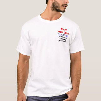 Camiseta Idiota do ferro de NTTF