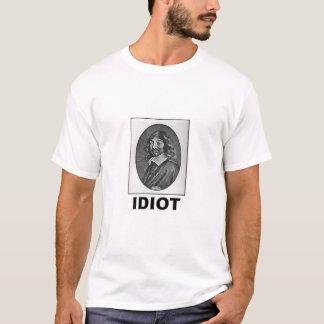 Camiseta Idiota: Rene Descartes