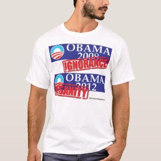 Camiseta Ignorância 2012 ou demência de Obama