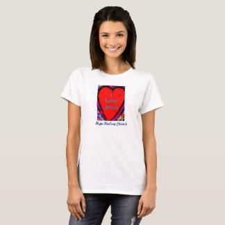 Camiseta Igreja cura da esperança eu amo o t-shirt das