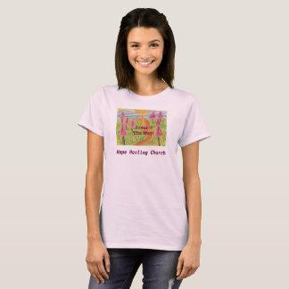 Camiseta Igreja cura Jesus da esperança o t-shirt das