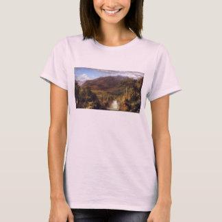 Camiseta Igreja de Frederic Edwin - coração dos Andes