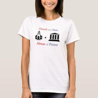 Camiseta Igreja de TLT + Estado = abuso de poder v1.1