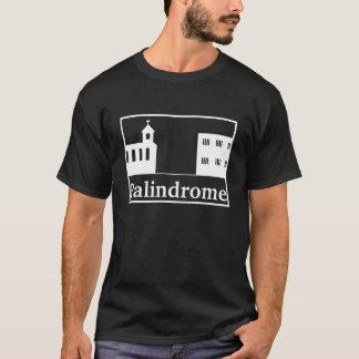 Camiseta Igreja do Palindrome e prisão - texto branco