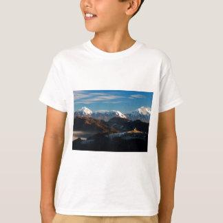 Camiseta Igreja do santo Thomas no nascer do sol