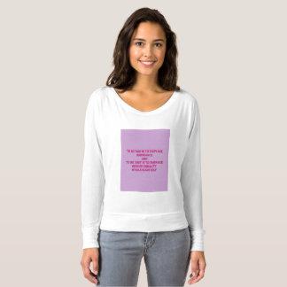 Camiseta Igualdade de género do abraço