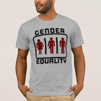 Camiseta IGUALDADE DE GÉNERO: Lei neutra do toalete do