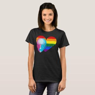 Camiseta Igualdade para todo o design