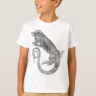 Camiseta Iguana do vintage